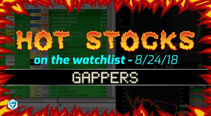 Ross' Friday Hot Stocks for Day Traders: A few Gappers then